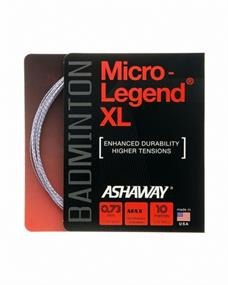 Yonex Ashaway Micro Legend badminton bespanning geel
