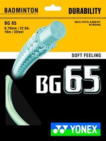 Yonex Bg 65 badminton bespanning wit