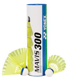 Yonex Mavis 300 6 Shuttels shuttles geel