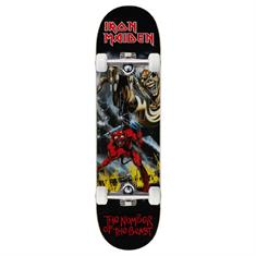 Zero Number of the Beast 8.0 skateboard complete zwart