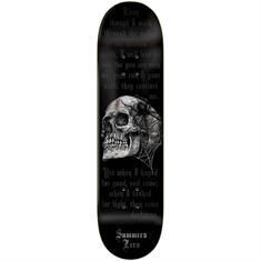 Zero Summers Sorrow Grips 8.25 skateboard zwart
