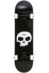 Zero Zero Single Skull 8.0 skateboard complete zwart