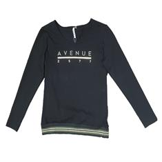 Zoso Avenue dames sweater zwart