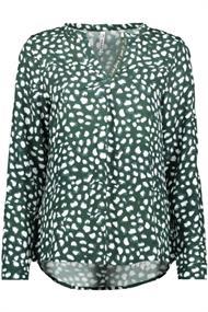 Zoso Esra dames blouse groen
