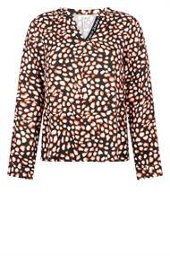 Zoso Esra dames blouse oranje