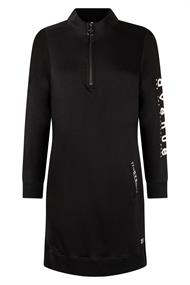 Zoso Jaimy dames jurk casual zwart