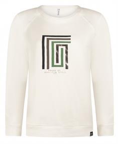 Zoso Lauren dames sweater wit
