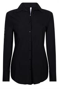 Zoso Lucky dames blouse zwart