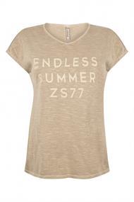 Zoso Saskia dames shirt beige