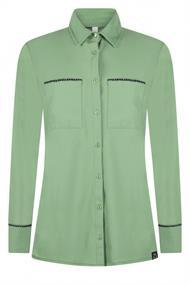 Zoso Vera dames blouse groen