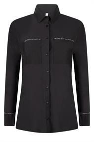 Zoso Vera dames blouse zwart